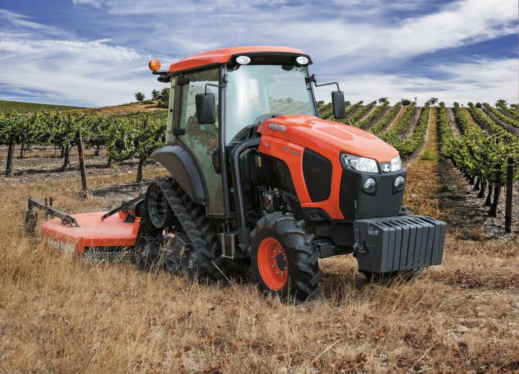 Specialty Tractors for the Vineyard