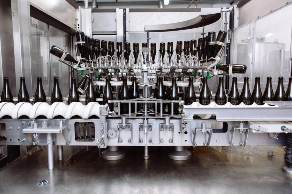 Steaming the Bottling Line